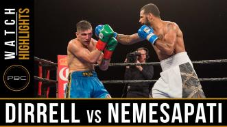 Dirrell vs Nemesapati highlights: January 13, 2017