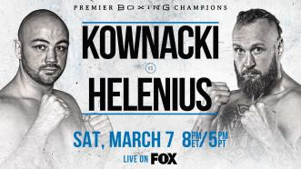 Kownacki vs Helenius Preview: March 7 - PBC on FOX