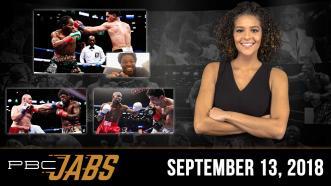 PBC Jabs: September 13, 2018