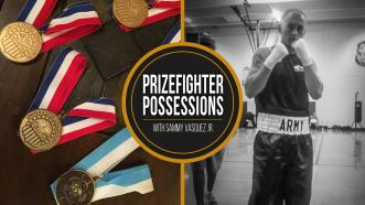 Prizefighter Possessions: Sammy Vasquez Jr.