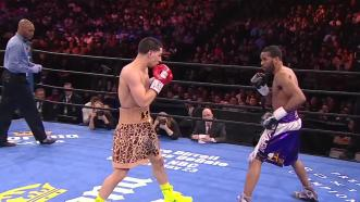 Garcia vs Peterson highlights: April 11, 2015