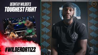 Deontay Wilder reveals his toughest fight to date