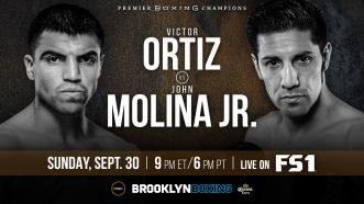 Ortiz vs Molina Promo: September 30, 2018 - PBC on FS1