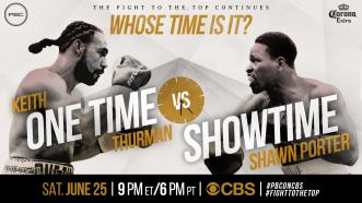 Whose Time Is It? Thurman vs Porter - June 25, 2016
