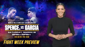 Spence vs Garcia - Fight Week Preview