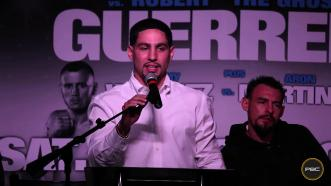 Danny Garcia on his January 23, 2016 fight against Robert Guerrero