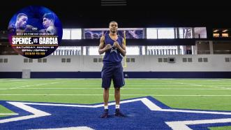 Errol Spence Jr. to fulfill his dream of joining the Dallas Cowboys … but from the boxing ring