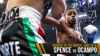 June 2018 Moment of the Month: Spence vs Ocampo