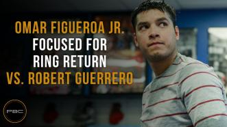Figueroa focused for ring return vs. Guerrero