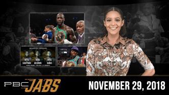 PBC Jabs: November 29, 2018