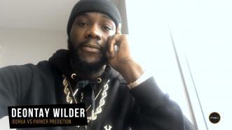 Wilder breaks down Joshua-Parker