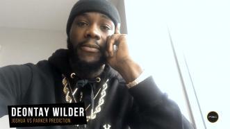 Wilder breaks down Joshua-Parker