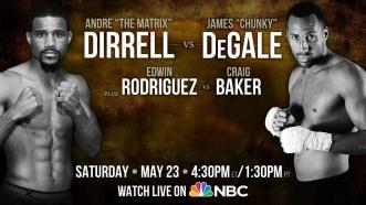 Preview of Dirrell vs DeGale and Rodriguez vs Baker: May 23, 2015