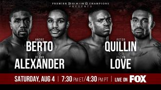 Berto vs Alexander Preview: August 4, 2018 - PBC on FOX