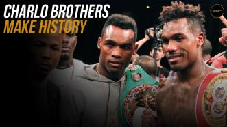 The Charlo brothers make history