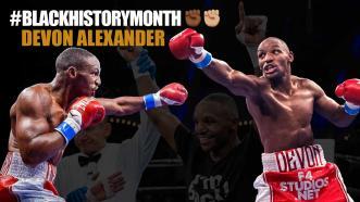 Black History Month: Devon Alexander