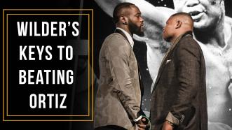 Heavyweight Champ Deontay Wilder shares his keys to beating Luis Ortiz