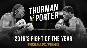 Thurman vs Porter Full Fight: June 25, 2016 - PBC on CBS