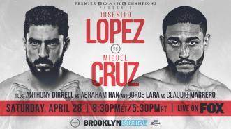 Lopez vs Cruz PREVIEW: April 28, 2018 - PBC on FOX