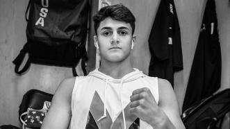A day in the life of 17-year-old welterweight prospect Vito Mielnicki