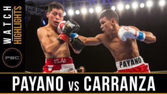 Payano vs Carranza highlights: January 13, 2017