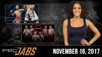 PBC Jabs: November 16, 2017