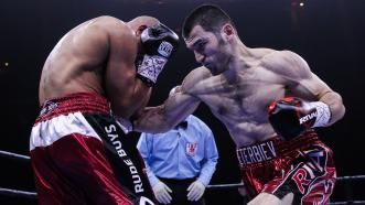 Artur Beterbiev delivers a KO in his PBC Debut