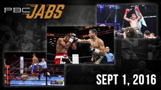 PBC Jabs: September 1, 2016