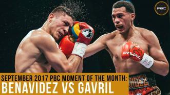 September 2017 Moment of the Month: Benavidez vs Gavril