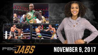 PBC Jabs: November 9, 2017