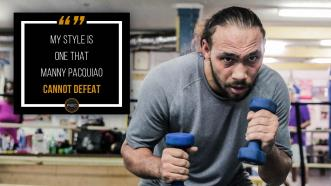 "Keith Thurman is confident he can ""figure out"" Manny Pacquiao"