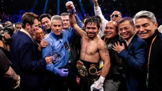 Manny Pacquiao dominates Adrien Broner, retains WBA welterweight title