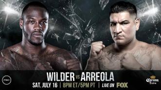 Wilder vs Arreola: July 16, 2016