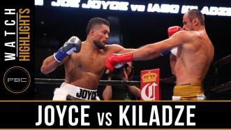 Joyce vs Kiladze  - Watch Video Highlights   September 30, 2018