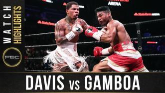 Davis vs Gamboa - Watch Fight Highlights | December 28, 2019
