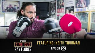 Keith Thurman joins PBC's Time Out with Ray Flores