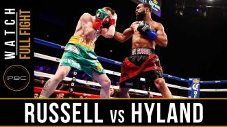 Russell vs Hyland Full Fight: April 16, 2016 - PBC on Showtime
