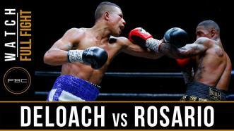 DeLoach vs Rosario - Watch Video Highlights | May 26, 2018