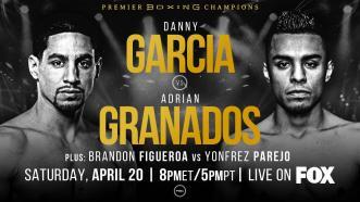 Garcia vs Granados PREVIEW: April 20, 2019 - PBC on FOX