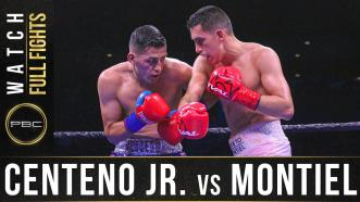 Centeno Jr. vs Montiel - Watch Full Fight | December 21, 2019