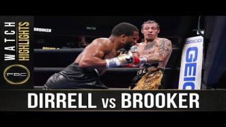 Dirrell vs Brooker - Watch Fight Highlights   July 31, 2021