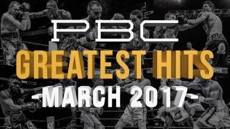 PBC Greatest Hits - March 2017