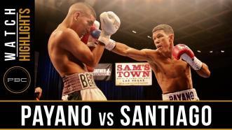 Payano vs Santiago HIGHLIGHTS: August 22, 2017