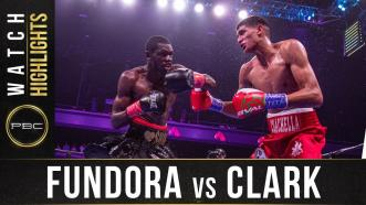Fundora vs Clark - Watch Fight Highlights | August 31, 2019