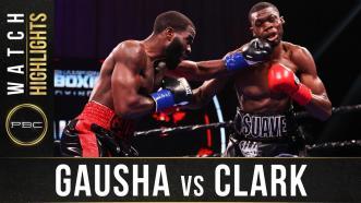 Gausha vs Clark - Watch Fight Highlights | March 13, 2021
