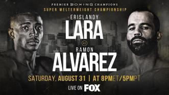 Lara vs Alvarez PREVIEW: August 31, 2019 - PBC on FOX