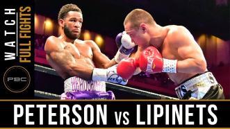 Peterson vs Lipinets - Watch Full Fight | March 24, 2019