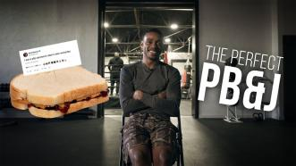 How to make the perfect PB&J (According to Errol Spence Jr.)