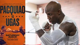 Yordenis Ugas Turns Up The HEAT In Training Camp Ahead of Manny Pacquiao Clash