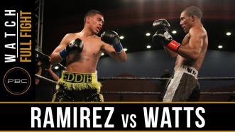 Ramirez vs Watts full fight: September 13, 2016